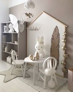 Fascinating Kid's Playroom Decorating Ideas to Help Your Child Learn - mybabydoo - Babyzimmer. Fascinating Kid's Playroom Decorating Ideas to Help Your Child Learn - mybabydoo - Babyzimmer wandgestaltung - Kids Bedroom Designs, Playroom Design, Baby Room Design, Playroom Decor, Baby Room Decor, Bedroom Decor, Playroom Ideas, Playroom Organization, Room Baby