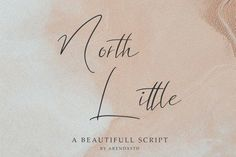 North Little is an elegant script font. Carefully hand-crafted, it will add an authentic touch to any design project! Script Logo, Handwritten Fonts, Typeface Font, Typography, 100 Fonts, Signature Fonts, Branding Materials, Premium Fonts, Cool Fonts