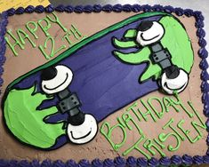 Skateboard cake Skateboard Cake, Young Adults, Snoopy, Teen, Cakes, Fictional Characters, Pastries, Torte, Cookies
