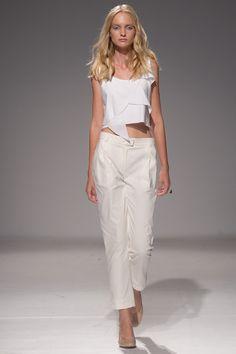 Ksenia Schnaider Kiev Spring 2016 Fashion Show