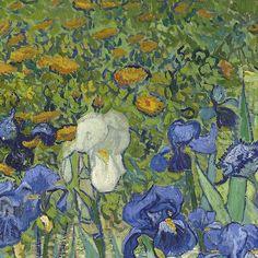 Irises (Detail), Vincent van Gogh, 1889