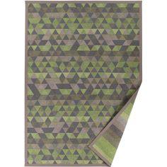 Zelený vzorovaný oboustranný koberec Narma Luke, 160x230cm