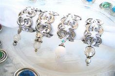 Beaded Soda Tab Napkin Rings
