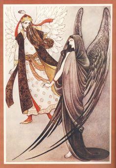 1978「翼ある天使の花嫁」より:内田善美 黒衣の女性に注目
