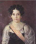 Ana de Jesus Maria of Portugal (1806 - 1857). Daughter of Joao VI and Charlotte of Spain. She married Jose Severo de Mendonca Rolim de Moura Barreto and had five children.
