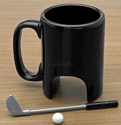 Golf Mug. Sam would love this lol