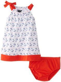 Nautica Baby-Girls Infant Anchor and Dot Print Dress, Sail White, 18 Months Nautica http://www.amazon.com/dp/B00HHTD4EQ/ref=cm_sw_r_pi_dp_1N1Utb1S4RRFT3ZY