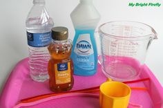 My Bright Firefly: Letter H is for Honey Bubbles. Bubble Making Experiments for Preschoolers