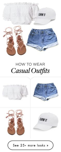 """""""Untitled #211"""" by brodriguez8104 on Polyvore featuring LoveShackFancy and SO"""