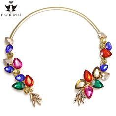 Like and Share if you want this  FORMU Choker Necklace Women Acrylic Inlaid Flowers Metal Charms Chain Statement Necklace Jewelry Wholesale NK536     Tag a friend who would love this!     FREE Shipping Worldwide     Get it here ---> http://jewelry-steals.com/products/formu-choker-necklace-women-acrylic-inlaid-flowers-metal-charms-chain-statement-necklace-jewelry-wholesale-nk536/    #earrings