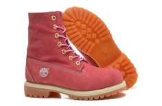 Timberland Womens Pink Leather Boots,Fashion Winter 2016 New Timberland Women Boots
