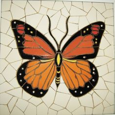 Check out our mosaic selection for the very best in unique or custom, handmade pieces from our shops. Mosaic Garden Art, Mosaic Diy, Mosaic Crafts, Mosaic Projects, Mosaic Tiles, Mosaic Rocks, Stone Mosaic, Mosaic Glass, Butterfly Mosaic