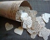 Who said confetti had to be annoying and sparkly. I love the extra romance of this vintage Romeo and Juliet Confetti by ddeforest.