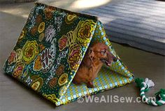 I can just see my three cats playing with this. This is a free project on the Bernina web site WeAllSew.com