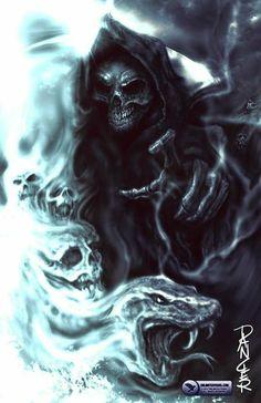Skull reaper