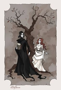Severus and Lily by IrenHorrors on @DeviantArt