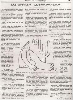 """Manifesto Antropófago"", Oswald de Andrade"