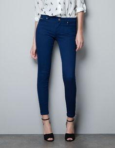 SKINNY JEANS - Trousers - Woman - ZARA United States