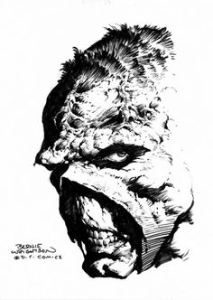 Swamp Thing by Berni Wrightson