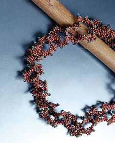 free seed bead earring patterns | beads around each larger bead for intricate looking beaded jewelry