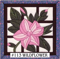 Wildflower Quilt Magic Kit-12X12
