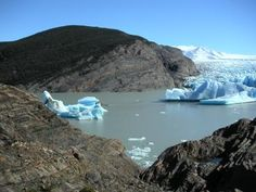 Grey Lake Torres del Paine, Chile   Lake and Glacier Grey, Torres del Paine Chile. Peter and Jackie Main