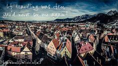Traveller quote, photography, printed di LaPellicolaCheNonCe su Etsy