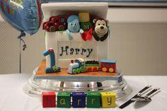 Toy Box Themed Birthday Cake