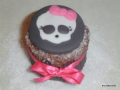 HOW-to Monster High topo para cupcakes!!!