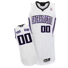 1f9c610da Kings Personalized Authentic White NBA Jersey (S-3XL) Ben Mclemore