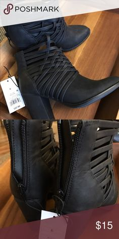 Black booties Brand new, never worn. Purchased fall of '16 Missoni Shoes Ankle Boots & Booties