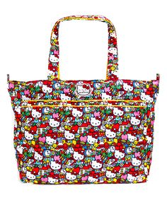 Loving this Ju-Ju-Be Tick Tock Hello Kitty Super Be Bag on #zulily! #zulilyfinds