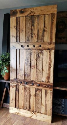 Interior Barn Door Sliding Wooden Door Barn Door by WoodenNail