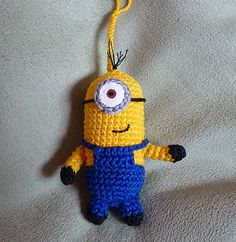 Minion By Stefanie Prautzsch - Free Crochet Pattern - (ravelry)