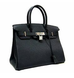 """The right handbag can be the main attraction in a woman's outfit, and this Hermes Birkin is definitely the """"right"""" handbag. Kim Kardashian was spotted carrying the over-sized purse at LAX earlier this month with a very low key outfit. No matter what you wear, this leather tote will pop your outfit."""