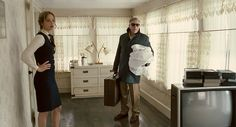 """Joy"" movie still, 2015.  L to R: Jennifer Lawrence, Robert De Niro."