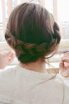 #beauty #hair #woman #fashion #style #braided