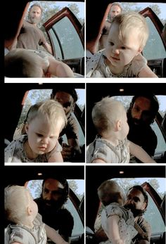 """The Walking Dead 5x11 """"The Distance"""" Rick and Judith"""