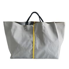 BAGnNOUN バッグンナウン|REVERSE TOTE 'L/W' Best Handbags, Tote Handbags, Retail Bags, Tote Bags, Fabric Bags, Nylon Bag, Shopper Bag, Casual Bags, Cotton Bag