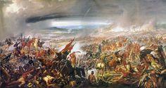 A Batalha de Avaí, 1877 - Pedro Américo (Museu Nacional de Belas Artes Rio de Janeiro)