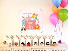 Pet Adoption Birthday Party