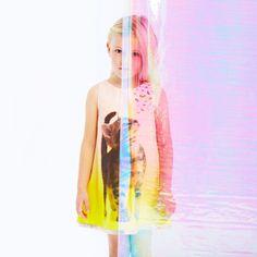 Anne Kurris spring summer 2014, yellow cotton sleeveless dress #animalkingdom #annekurris #childrens #kids #childrenswear #kidswear #kidsfashion #girls #boys