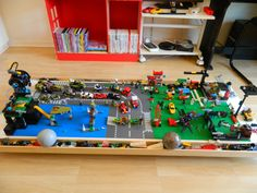 Diy Under Bed Storage Lego Table... going to try fit gman's train set