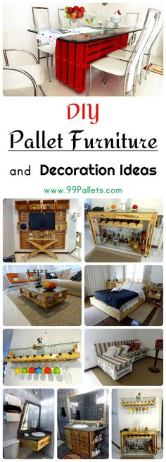 DIY Pallet Furniture and Decoration Ideas | 99 Pallets