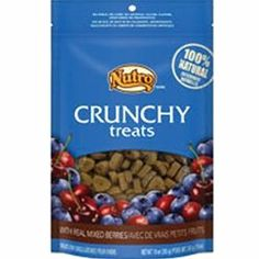 Nutro Crunchy Dog Treats with Real Mixed Berries, 16oz - http://www.thepuppy.org/nutro-crunchy-dog-treats-with-real-mixed-berries-16oz/