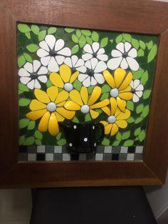 Flores amarelas - Mosaic