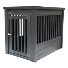 @Overstock.com.com - New Age Medium Eco-Friendly Dog Crate - Habitat 'n Home InnPlace is the perfect place for your pet when they're indoors. Popularly called a crate table, this does double duty in many homes, serving as a mission style end or lamp table in the family room, bedroom or living room.  http://www.overstock.com/Pet-Supplies/New-Age-Medium-Eco-Friendly-Dog-Crate/8312846/product.html?CID=214117 $149.99