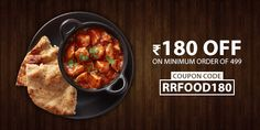 Get flat Rs. 180 off on your orders. Minimum Order of Rs. Use the code to avail the offer. Easy order food on train with Railrestro Food Coupons, Order Food, Coding, Train, Flat, Breakfast, Easy, Ballerinas, Flat Shoes