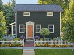 A charming home in Plymouth, Michigan #curbappeal #hgtvmagazine // http://www.hgtv.com/design/outdoor-design/landscaping-and-hardscaping/curb-appeal-across-the-country-pictures?soc=pinterest