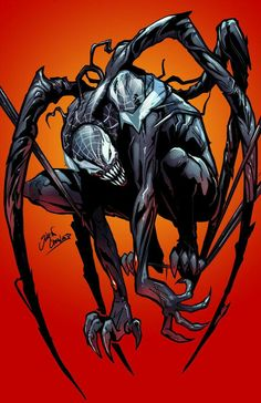 Spiderman vs Venom Colors by on DeviantArt Marvel Comics, Marvel Villains, Marvel Art, Marvel Characters, Marvel Heroes, Ms Marvel, Captain Marvel, Venom Spiderman, Marvel Venom
